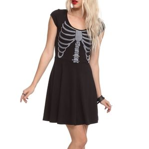 Hot Topic Teenage Runaway Rib Cage Dress